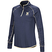 Colosseum Women's Navy Midshipmen Navy Stingray Quarter-Zip Shirt