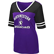 Colosseum Women's Northwestern Wildcats Purple Samantha T-Shirt