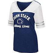 Colosseum Women's Penn State Nittany Lions Blue Samantha T-Shirt