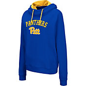 Colosseum Women's Pitt Panthers Blue Louise Pullover Sweatshirt