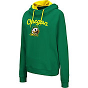 Colosseum Women's Oregon Ducks Green Louise Pullover Sweatshirt