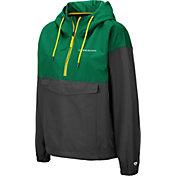 Colosseum Women's Oregon Ducks Green Dolce Anorak Jacket