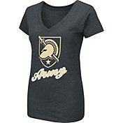 Colosseum Women's Army West Point Black Knights Army Black Dual Blend V-Neck T-Shirt