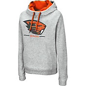 Colosseum Women's Oregon State Beavers Grey Lily Funnel Neck Pullover Hoodie