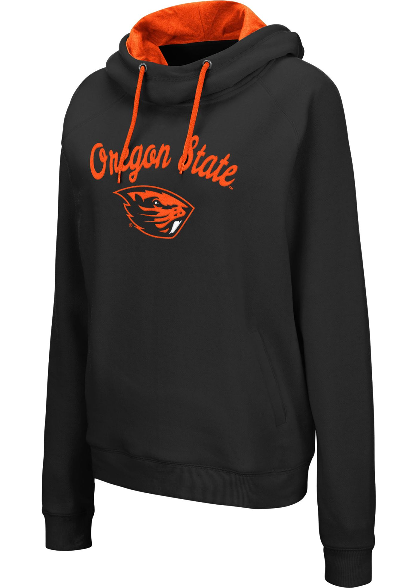 Colosseum Women's Oregon State Beavers Louise Pullover Black Sweatshirt