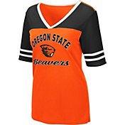 Colosseum Women's Oregon State Beavers Orange Samantha T-Shirt