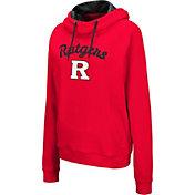 Colosseum Women's Rutgers Scarlet Knights Scarlet Louise Pullover Sweatshirt