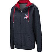 Colosseum Women's Arizona Wildcats Navy Full-Zip Hoodie