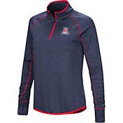 Colosseum Women's Arizona Wildcats Navy Stingray Quarter-Zip Shirt