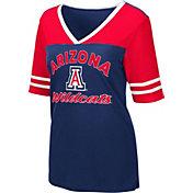 Colosseum Women's Arizona Wildcats Navy Samantha T-Shirt