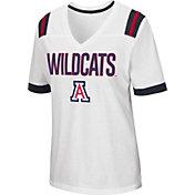 Colosseum Women's Arizona Wildcats Lowland White T-Shirt