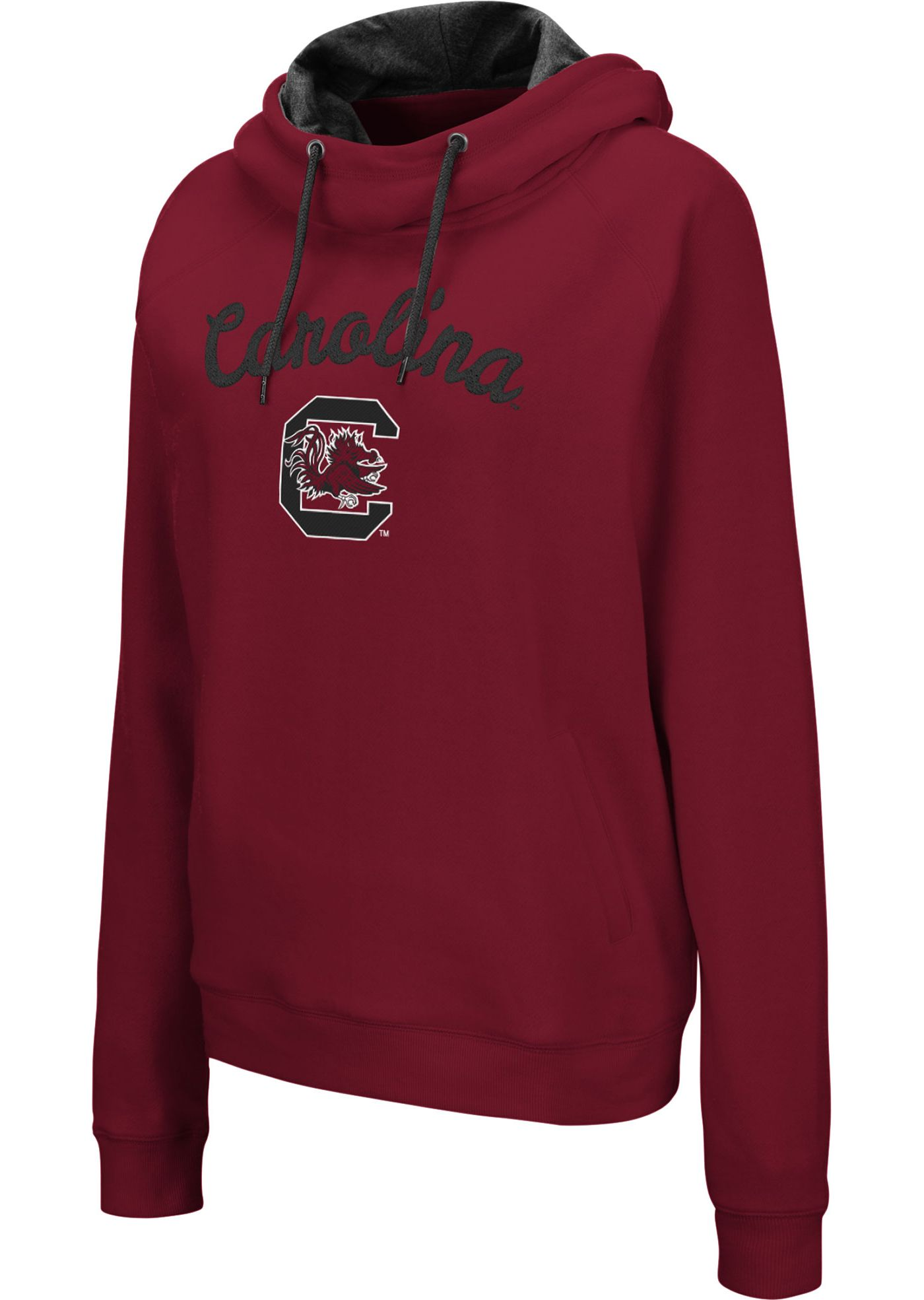 Colosseum Women's South Carolina Gamecocks Garnet Louise Pullover Sweatshirt