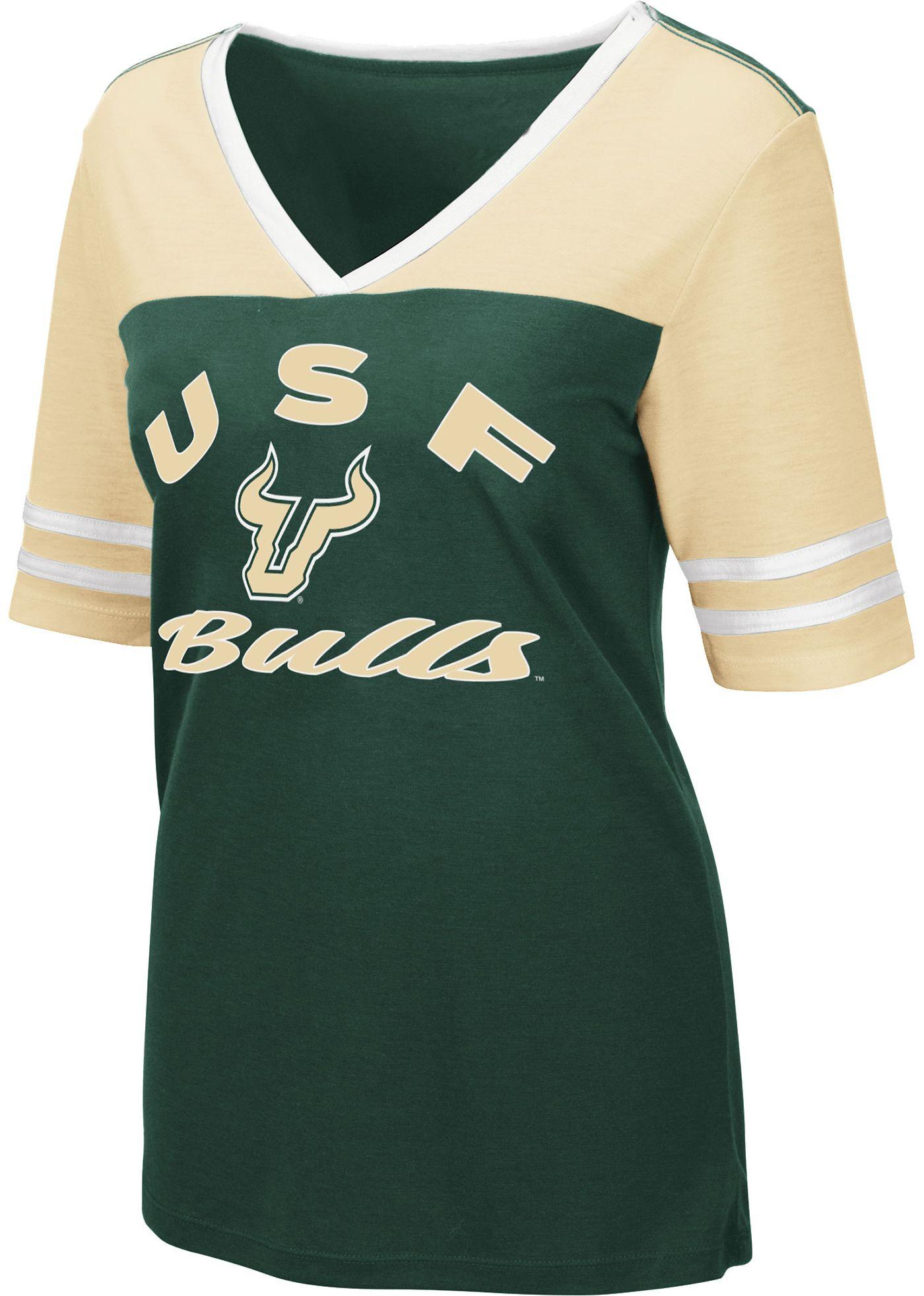 Colosseum Women's South Florida Bulls Green Samantha T-Shirt