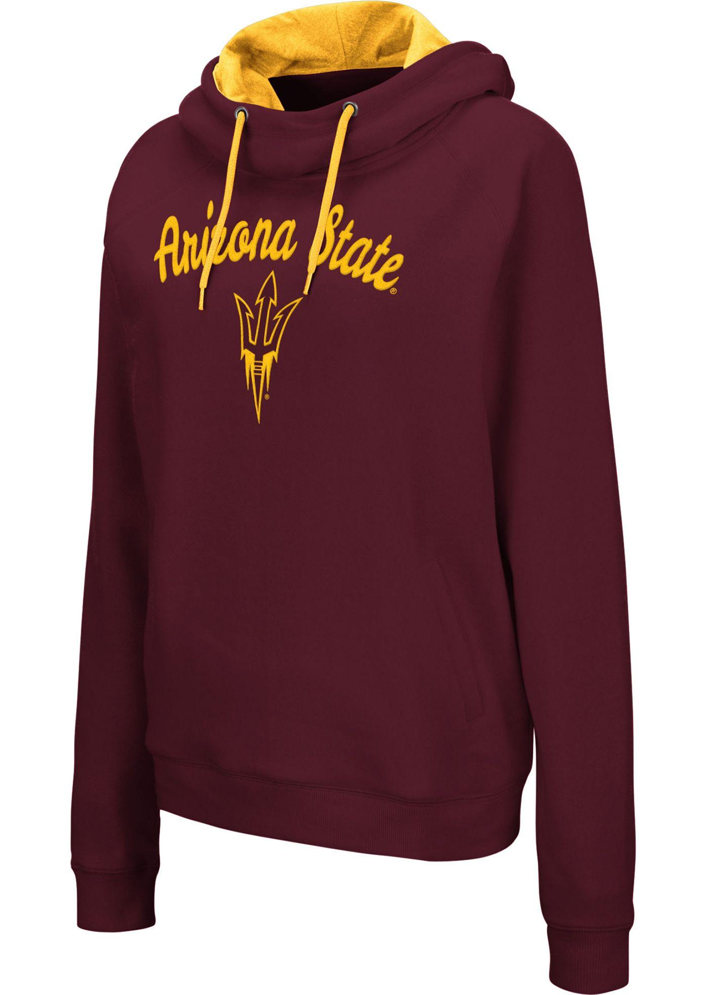 Colosseum Women's Arizona State Sun Devils Maroon Louise Pullover Sweatshirt