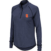 Colosseum Women's Syracuse Orange Blue Quarter-Zip Shirt