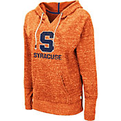 Colosseum Women's Syracuse Orange Orange Bradshaw Pullover Hoodie