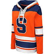 Colosseum Women's Syracuse Orange Orange Choo Hockey Pullover Hoodie