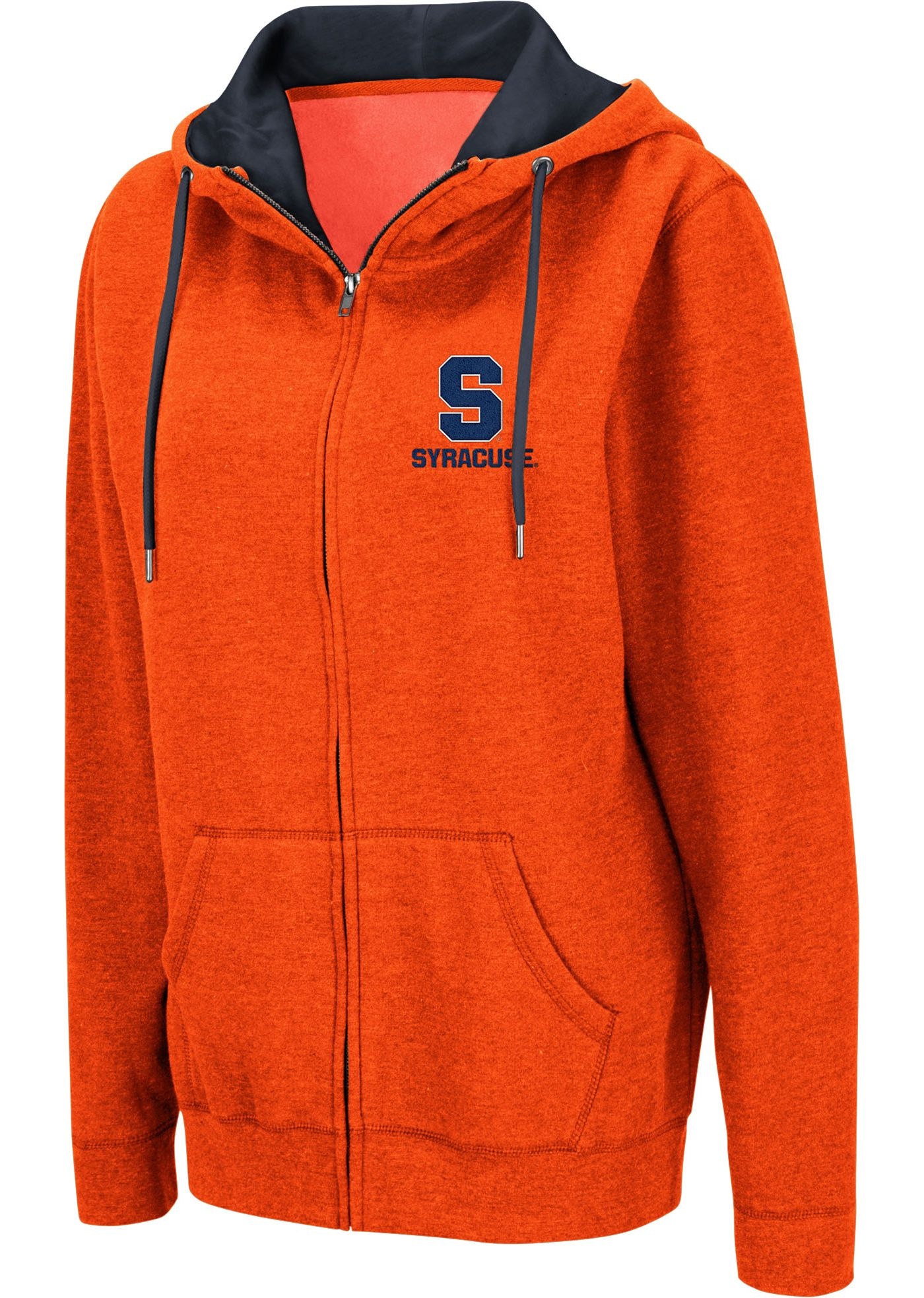 Colosseum Women's Syracuse Orange Orange Full-Zip Hoodie