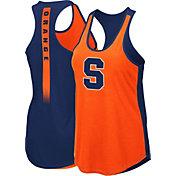 Colosseum Women's Syracuse Orange Orange/Blue Publicist Tank Top