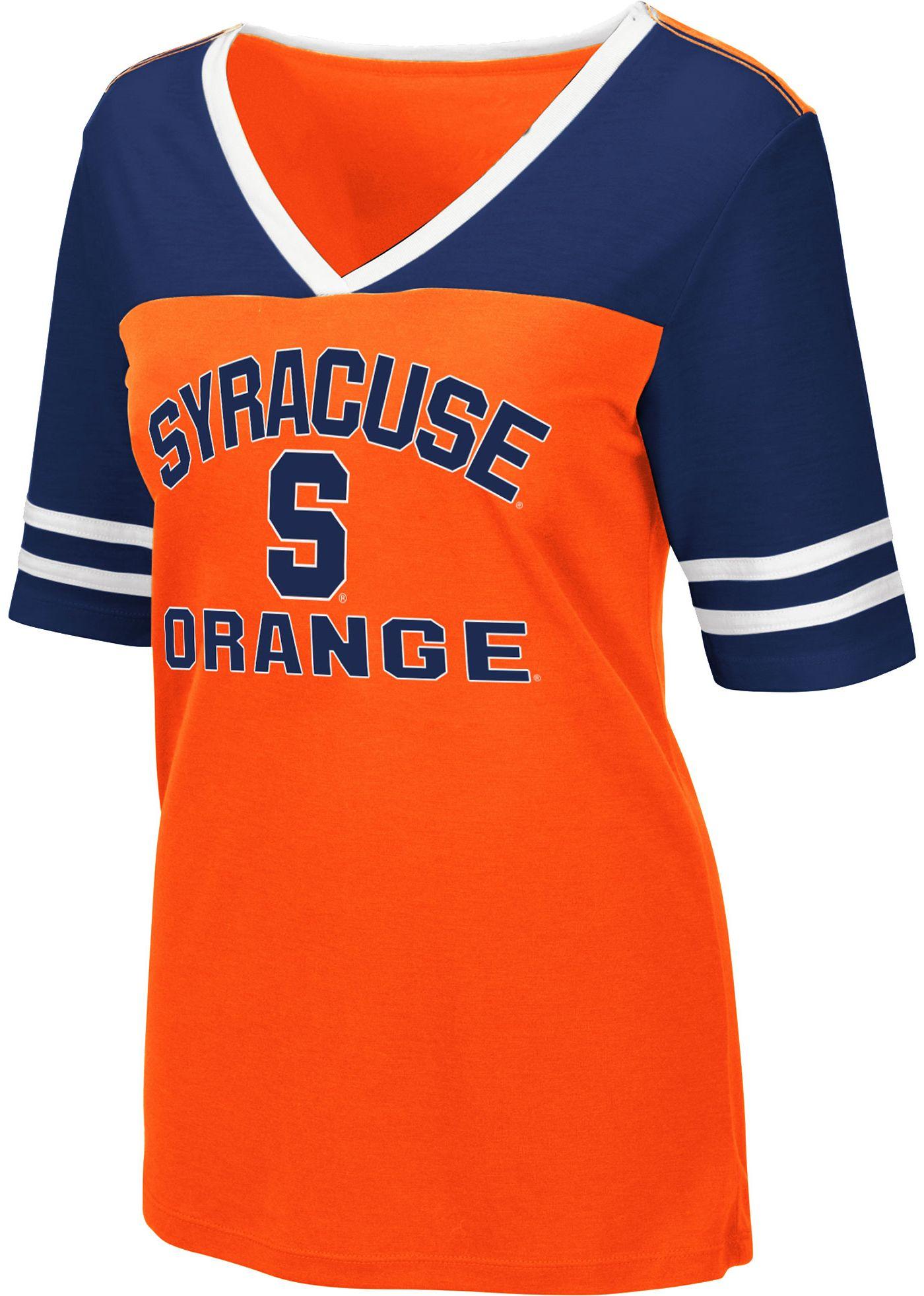 Colosseum Women's Syracuse Orange Orange Samantha T-Shirt