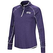Colosseum Women's TCU Horned Frogs Purple Stingray Quarter-Zip Shirt