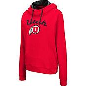 Colosseum Women's Utah Utes Crimson Louise Pullover Sweatshirt
