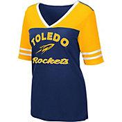 Colosseum Women's Toledo Rockets Midnight Blue Samantha T-Shirt