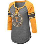 Colosseum Women's Tennessee Volunteers Grey Carrie Long Sleeve T-Shirt