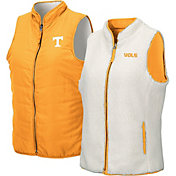 Colosseum Women's Tennessee Volunteers Tennessee Orange Blatch Reversible Full-Zip Vest