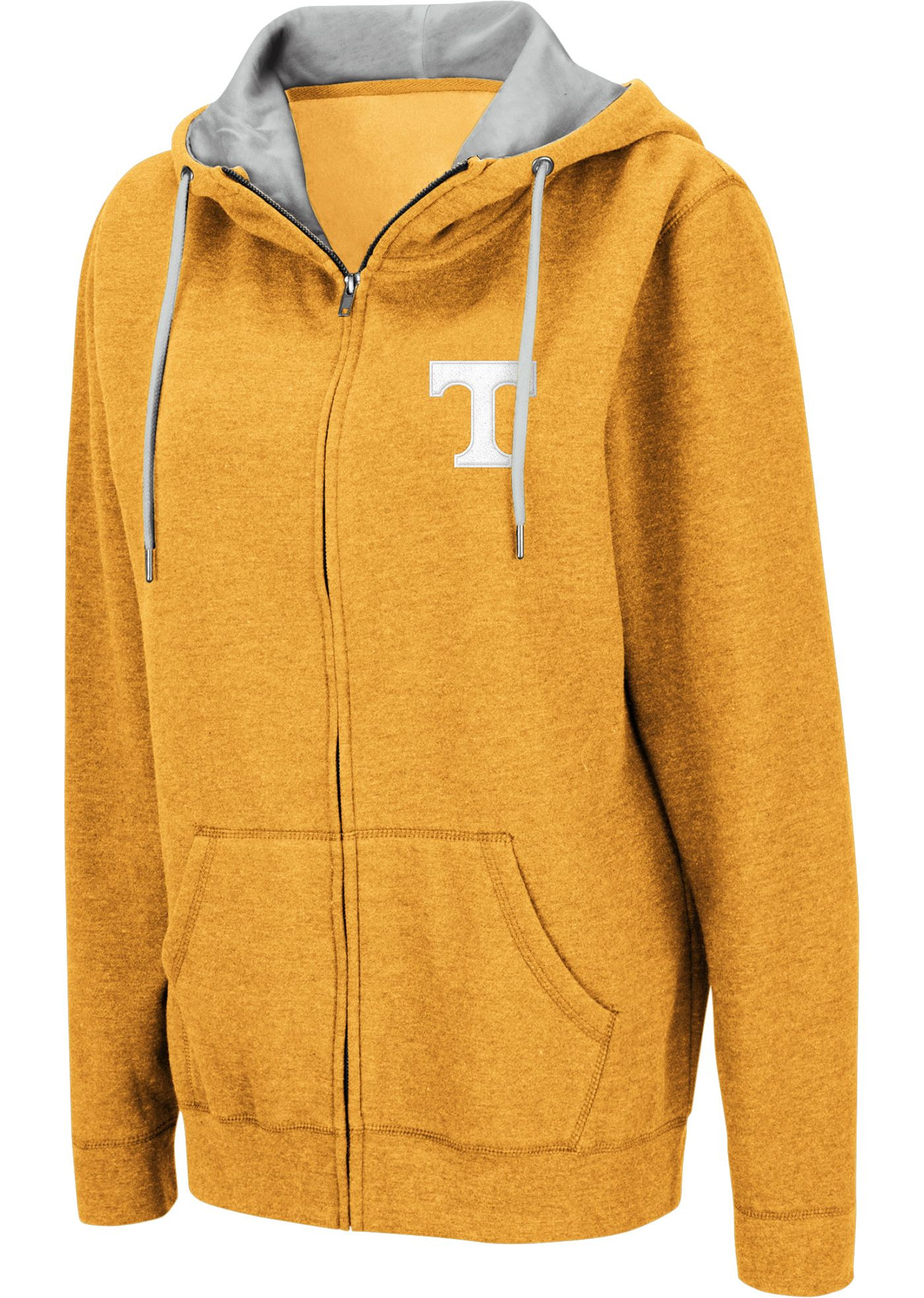 Colosseum Women's Tennessee Volunteers Tennessee Orange Full-Zip Hoodie