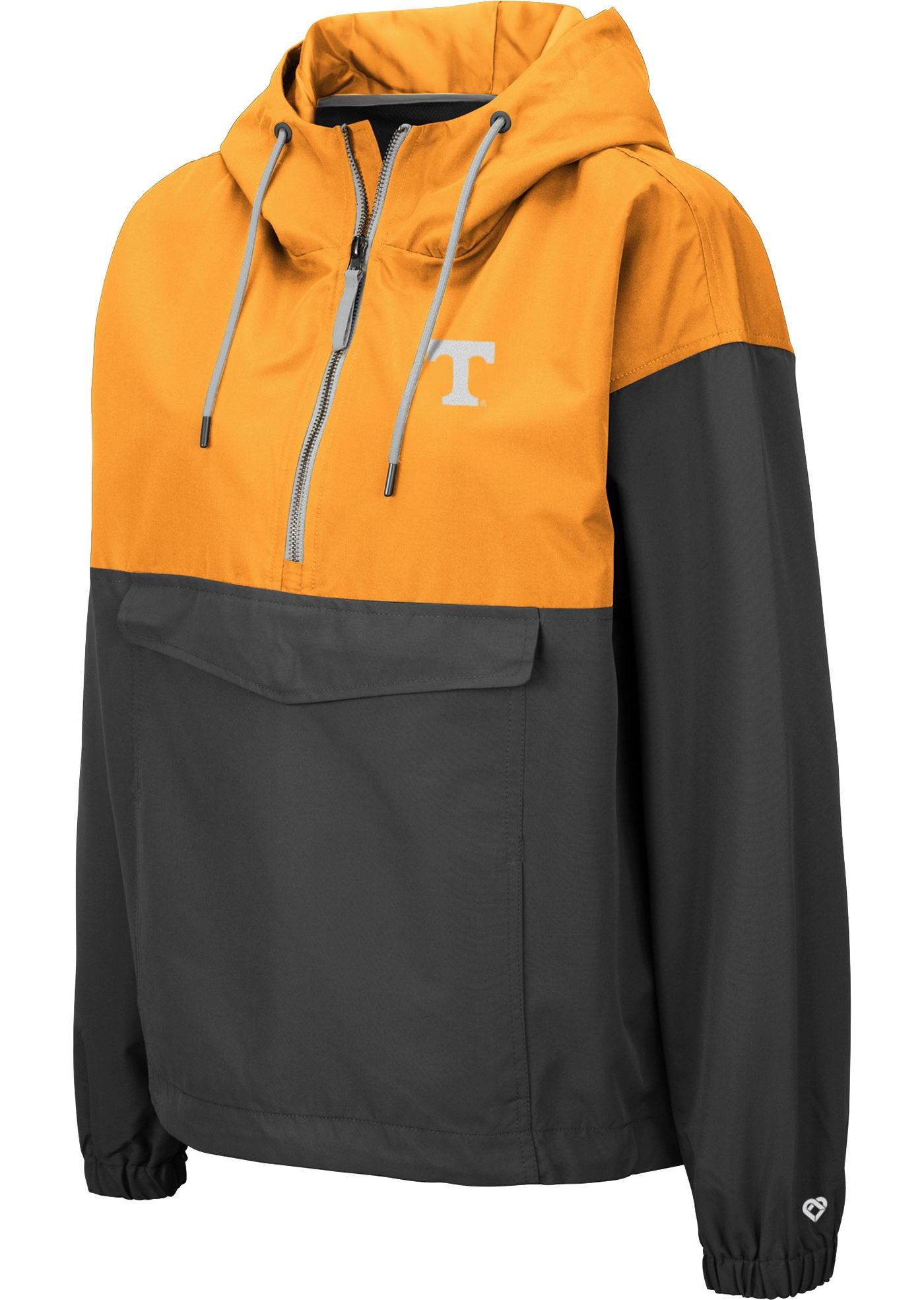 Colosseum Women's Tennessee Volunteers Tennessee Orange Dolce Anorak Jacket