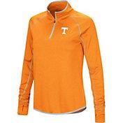 Colosseum Women's Tennessee Volunteers Tennessee Orange Stingray Quarter-Zip Shirt