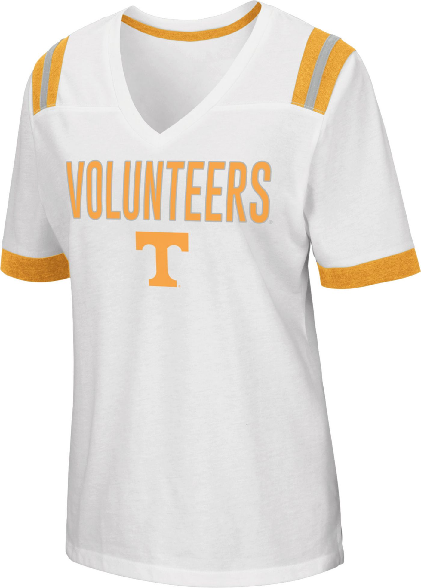 Colosseum Women's Tennessee Volunteers Lowland White T-Shirt