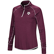 Colosseum Women's Texas A&M Aggies Maroon Stingray Quarter-Zip Shirt