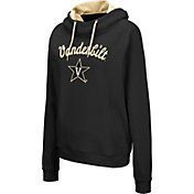 Colosseum Women's Vanderbilt Commodores Louise Pullover Black Sweatshirt