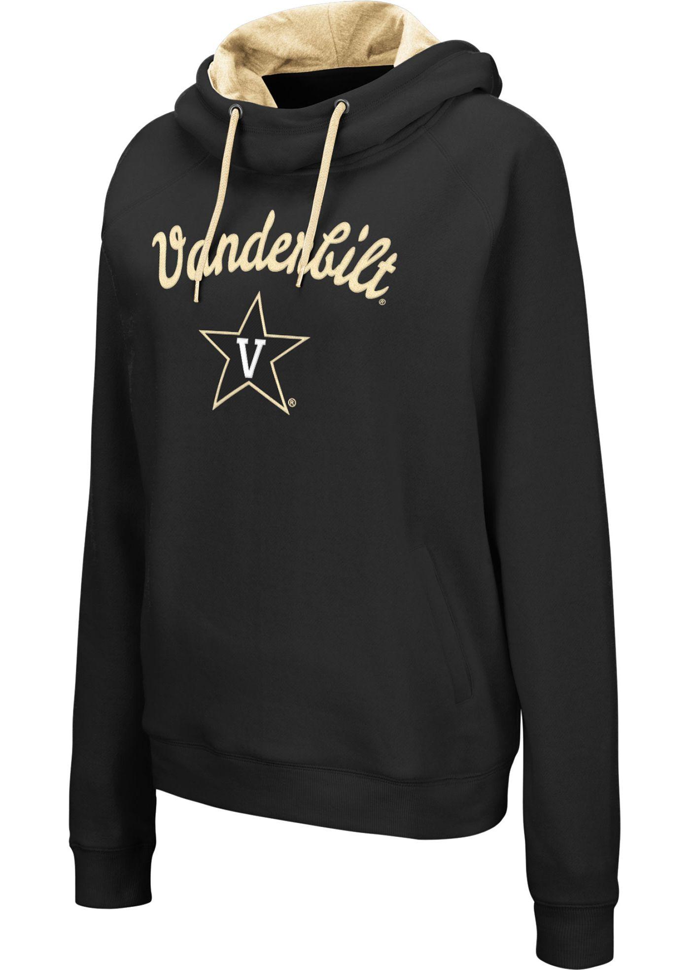 Colosseum Women's Vanderbilt Commodores Louise Pullover Black Sweatshirt
