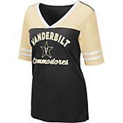 Colosseum Women's Vanderbilt Commodores Samantha Black T-Shirt