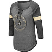 Colosseum Women's Vanderbilt Commodores Grey Carrie Long Sleeve T-Shirt