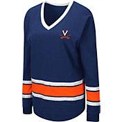 Colosseum Women's Virginia Cavaliers Blue Alrighty Long Sleeve T-Shirt