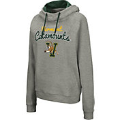 Colosseum Women's Vermont Catamounts Grey Studio Funnel Pullover Hoodie