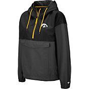 Colosseum Women's Iowa Hawkeyes Dolce Anorak Black Jacket