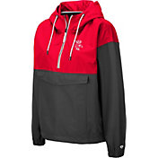 Colosseum Women's Wisconsin Badgers Red Dolce Anorak Jacket