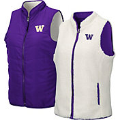Colosseum Women's Washington Huskies Purple Blatch Reversible Full-Zip Vest