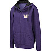 Colosseum Women's Washington Huskies Purple Full-Zip Hoodie