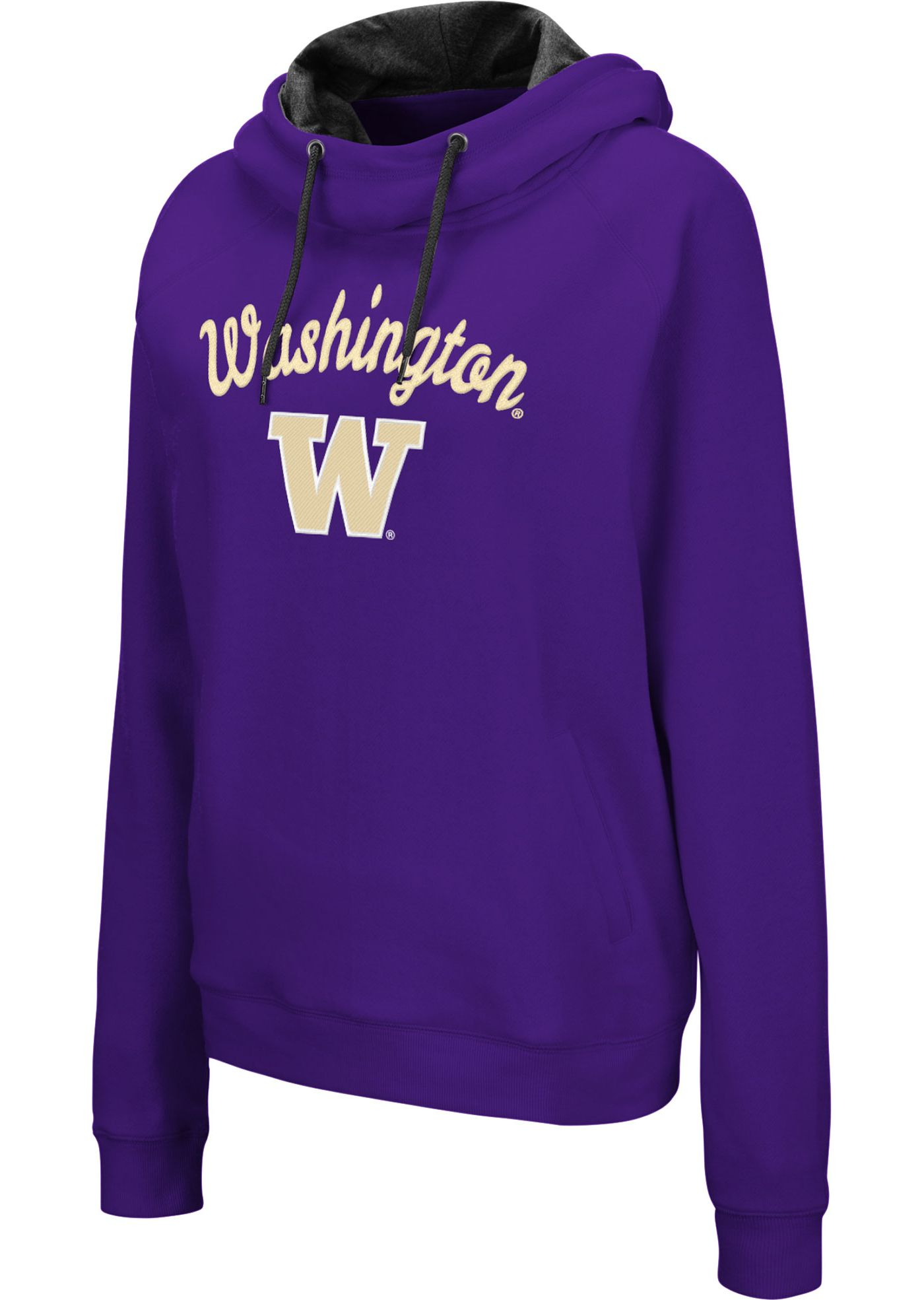 Colosseum Women's Washington Huskies Purple Louise Pullover Sweatshirt