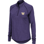 Colosseum Women's Washington Huskies Purple Quarter-Zip Shirt