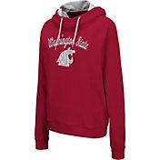 Colosseum Women's Washington State Cougars Crimson Louise Pullover Sweatshirt