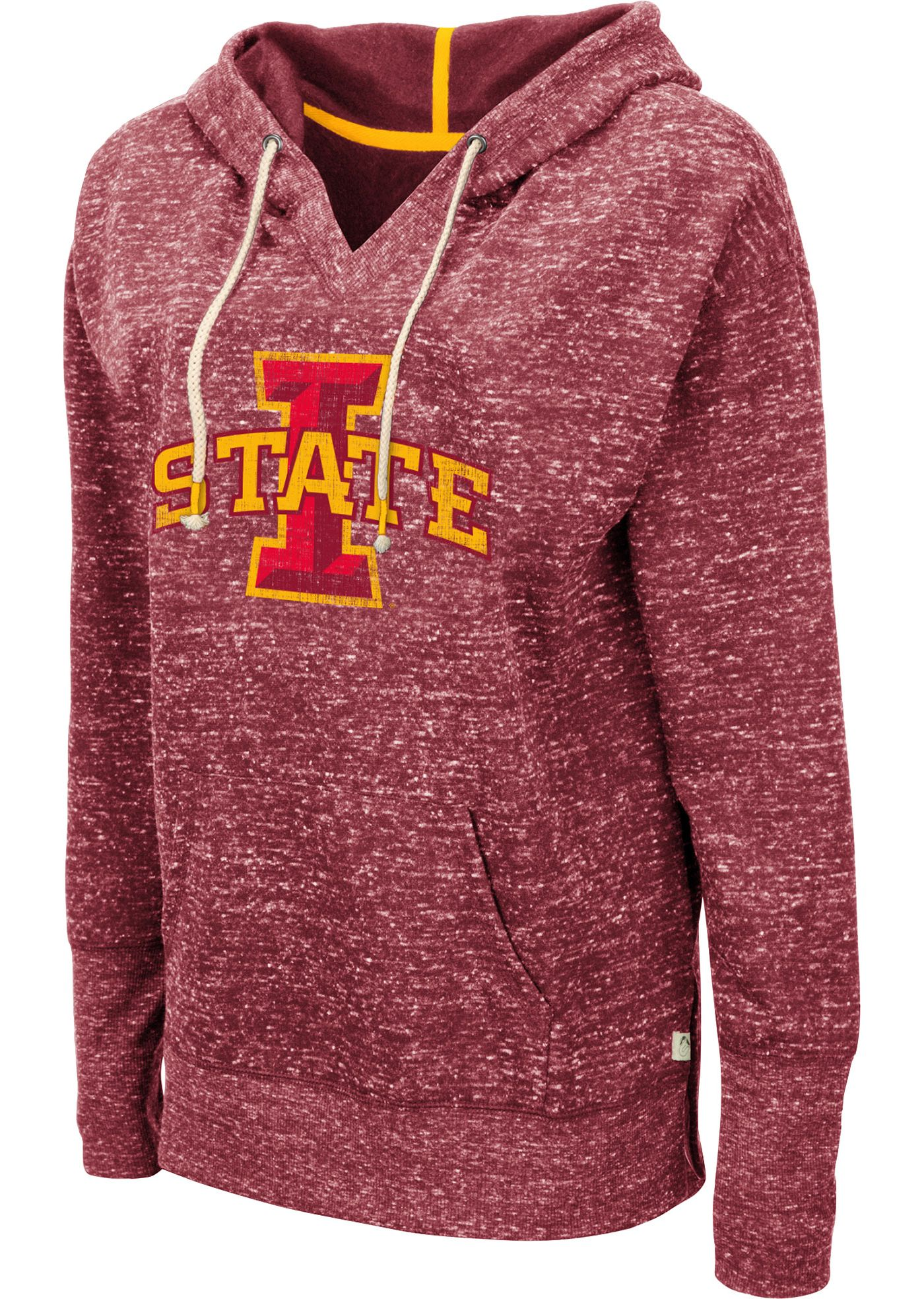Colosseum Women's Iowa State Cyclones Cardinal Bradshaw Pullover Hoodie