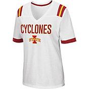 Colosseum Women's Iowa State Cyclones Lowland White T-Shirt