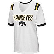 Colosseum Women's Iowa Hawkeyes Lowland White T-Shirt